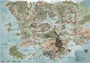 Faerun Map 1479DR