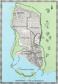 Karte von Tiefwasser