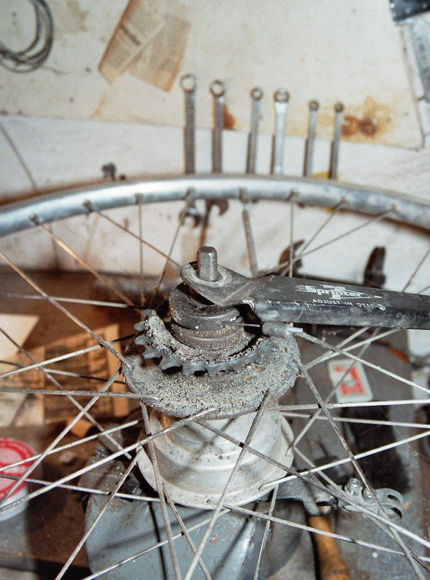 Fahrrad Hinterradnabe Wechseln