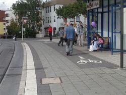 Moegeldorf sidewalk 1 f s