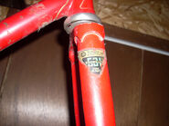 Reynolds 531 - fork decal - Raleigh