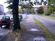 Anderer Radweg in Berlin - Luxemburger Straße