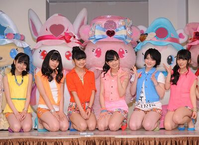 Hikari no Hate ni press conference