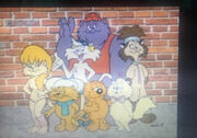 Chester Mcbadbat Heathcliff and The Catillac Cats