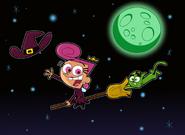 Happy halloween cosmo wanda by fairlyoddfan-d4eixv1