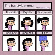 Hairstyle meme by cookie lovey-d30eq4b