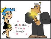 Mr and mrs von strangle by cookie lovey-d4dauye