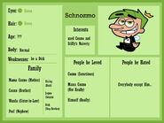 Schnozmo profile by cookie lovey-d4wmfvh
