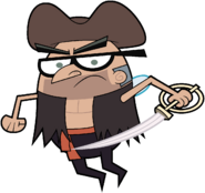 Stan Pirate Stock Image