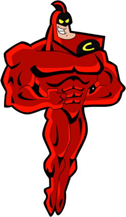 Crimson Chin Stock Image