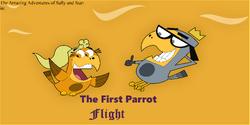 The First Parrot Flight