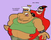 Crimson chin and obese jorgen by cookie lovey-d5we4e1