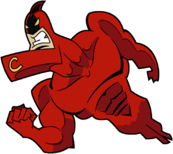 Crimson Chin (Oh, Yeah! Cartoons) Stock Image
