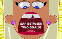 Gap Between Two Goals!