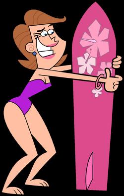 Mrs. Turner Swimsuit Stock Image