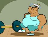Pregnant jorgen in gym by cookie lovey-d6nernn