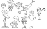 The All New Fairly OddParents scetchart 2