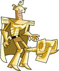 Bronze Kneecap image