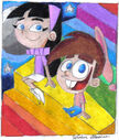 Trixie Tang and Timmy Turner by Ultrasponge