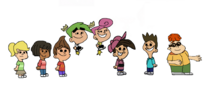 Timmy and Jimmy and Friends As Peanuts Characters