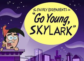 !) Go Young, Skylark! Titlecard