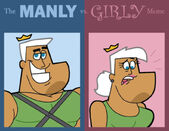 Manly vs girly with jorgen by cookie lovey-d5ccva5