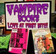 Vampire Books -- Love at First Bite!