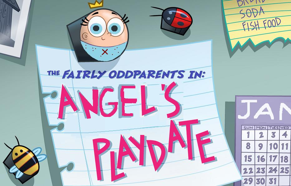 fairly odd parents blue angel