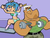 Jxtf fitness by cookie lovey-d7iyq76