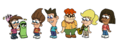 Timmy Jimmy and Friends In The Simpsons-Feldmans Style