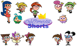 The All New Fairly OddParents! Shorts Title Card