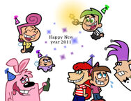 Happy new year 2011 by cookie lovey-d364bf8