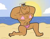 Jorgen in bikini by cookie lovey-d6as8zi