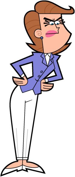 Mrs. Turner Saleswoman Stock Image