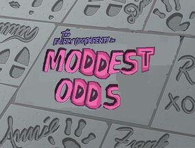 Moddest Odds Titlecard