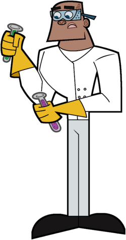 Adult A.J. Scientist Stock Image