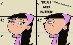 Trixie Gets Busted