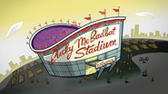 Bucky McBadbat Stadium