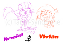 Veronica and Vivian trade by Taryn Syndrome