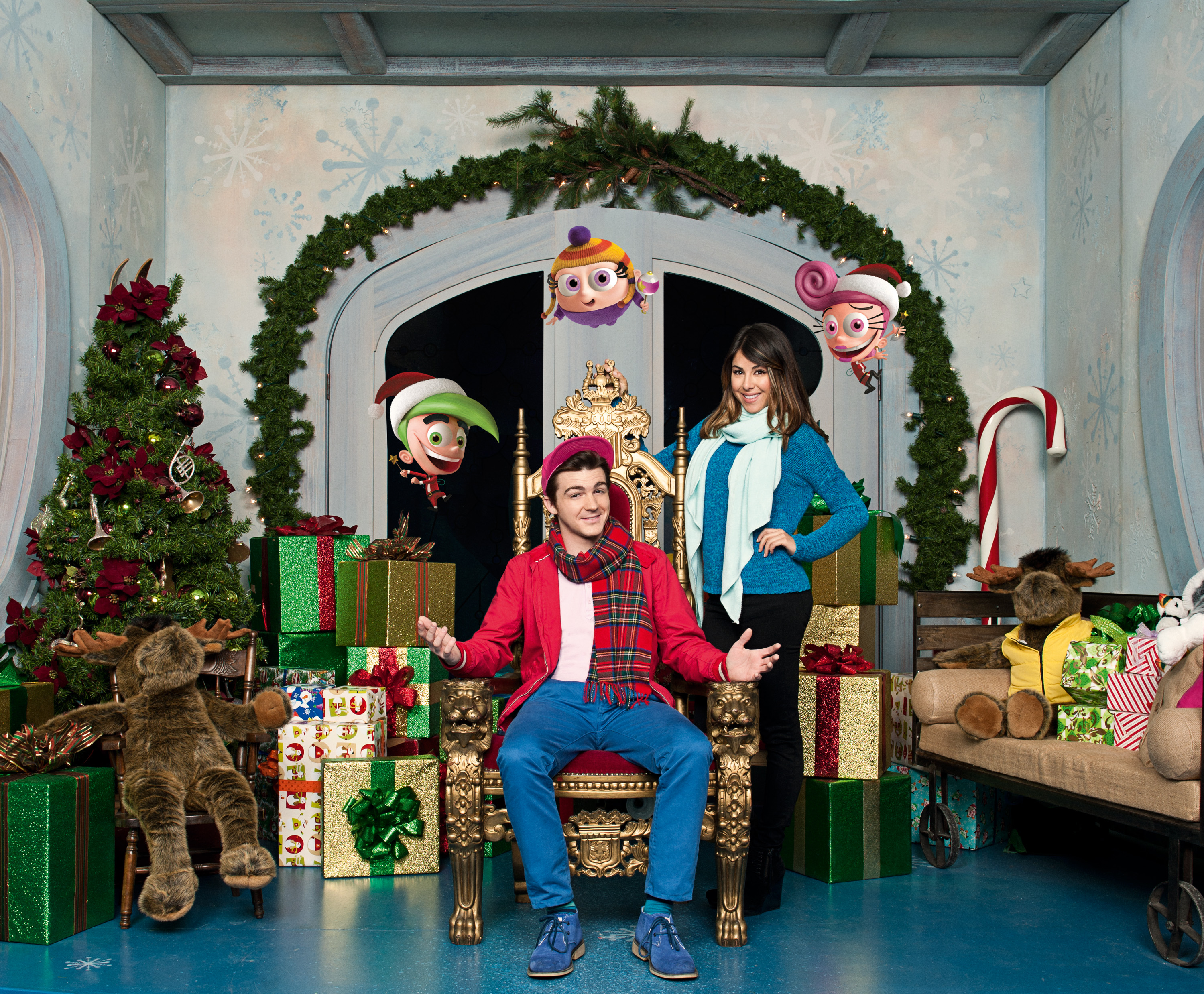 A fairly odd christmas fairly odd parents wiki fandom powered promotional image of the film drake bell kristyandbryce Images