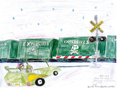 Railroad Crossing in FOP Odd Squad (My Version)4