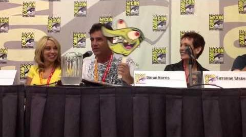 Butch Hartman Nickelodeon Comic-Con Panel 2012