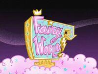 Fairy World Sign