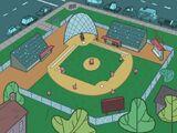 Dimmsdale Baseball Diamond