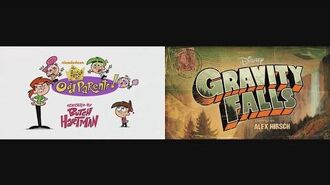 The Fairly OddParents and Gravity Falls Theme Song Mix