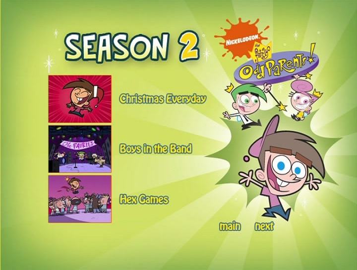 The Fairly OddParents: Season 2 DVD | Fairly Odd Parents Wiki | FANDOM powered by Wikia