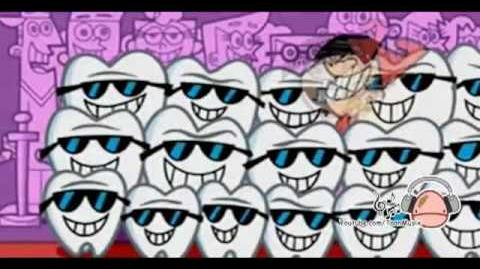 The fairly oddparents shiny teeth and me