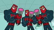 Forces of evil grunts