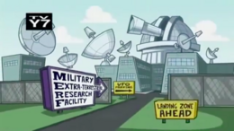 Military Extra-terrestrial Research Facility