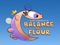 Titlecard-Balance of Flour